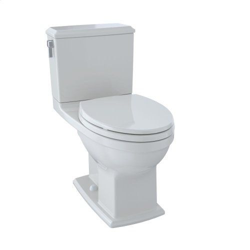 Connelly® Two-Piece Toilet 1.28 GPF & 0.9 GPF, Elongated Bowl - Colonial White