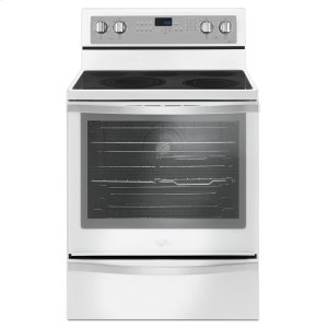 6.4 Cu. Ft. Freestanding Electric Range with True Convection - WHITE ICE