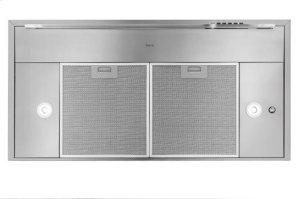 "Harmonia - 35-7/16"" Stainless Steel Chimney Range Hood with iQ6 Blower System, 600 CFM"