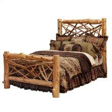 Twig Bed King, Natural Cedar