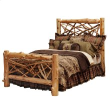 Twig Bed - King - Natural Cedar