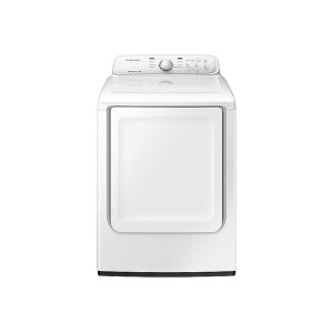 7.2 cu. ft. Electric Dryer with Moisture Sensor in White -