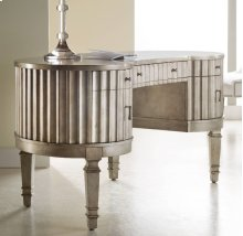 Melange Fluted Kidney Desk