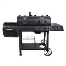 LONGHORN COMBO CHARCOAL & GAS OFFSET SMOKER Product Image