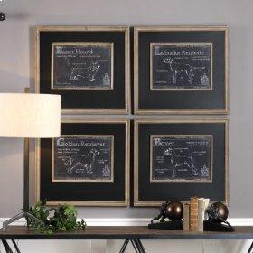 Canis Lupus Familiaris Framed Prints