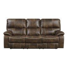 Emerald Home Jessie James Motion Sofa Chocolate Brown U7130-00-15