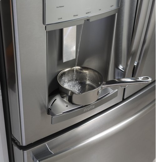 GE Profile Series ENERGY STAR® 27.8 Cu. Ft. French-Door Refrigerator with Hands-Free AutoFill