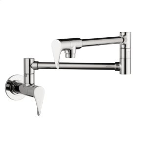 Chrome Citterio Pot Filler, Wall-Mounted Product Image