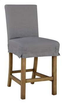 Short Stool Slip Cover