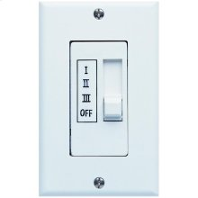 2.5 Amp White Wall Control