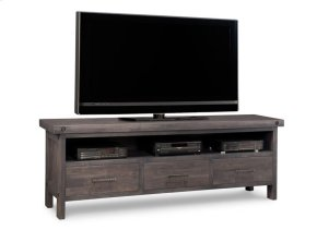 Rafters HDTV Unit w/Hutch with 54'' TV Opening