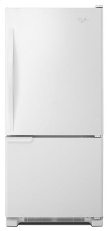 Floor Model 30-inches wide Bottom-Freezer Refrigerator with Accu-Chill System - 18.7 cu. ft.