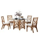 Plantation Bay 6 PC Dining Set w/cushion Product Image