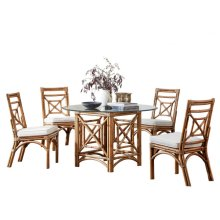Plantation Bay 6 PC Dining Set w/cushion
