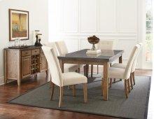 """Debby Side Chair - Beige 21""""x29""""x40"""" [1/2"""" Memory Foam]"""