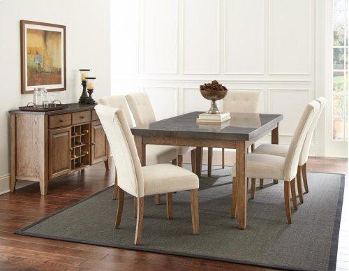 "Debby Dining Table Legs 31""H [4pcs/box] -28.375""x3.125"""