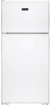 Crosley Top Mount Refrigerator - White Product Image
