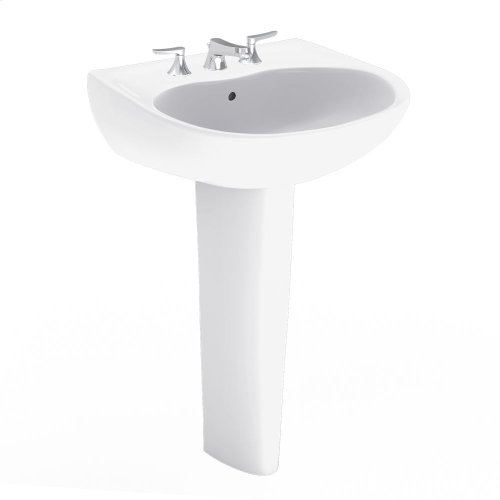 Supreme® Pedestal Lavatory - Colonial White