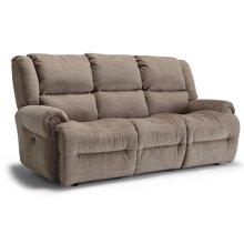 GENET COLL Power Tilt Headrest Space Saver Reclining Sofa
