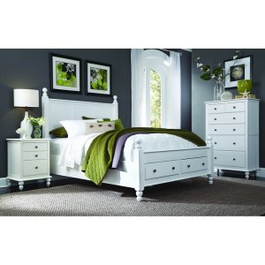 JOHN THOMAS FURNITUREKing Cottage Storage Bed