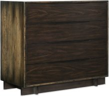 Crafted Four-Drawer Bachelor Chest