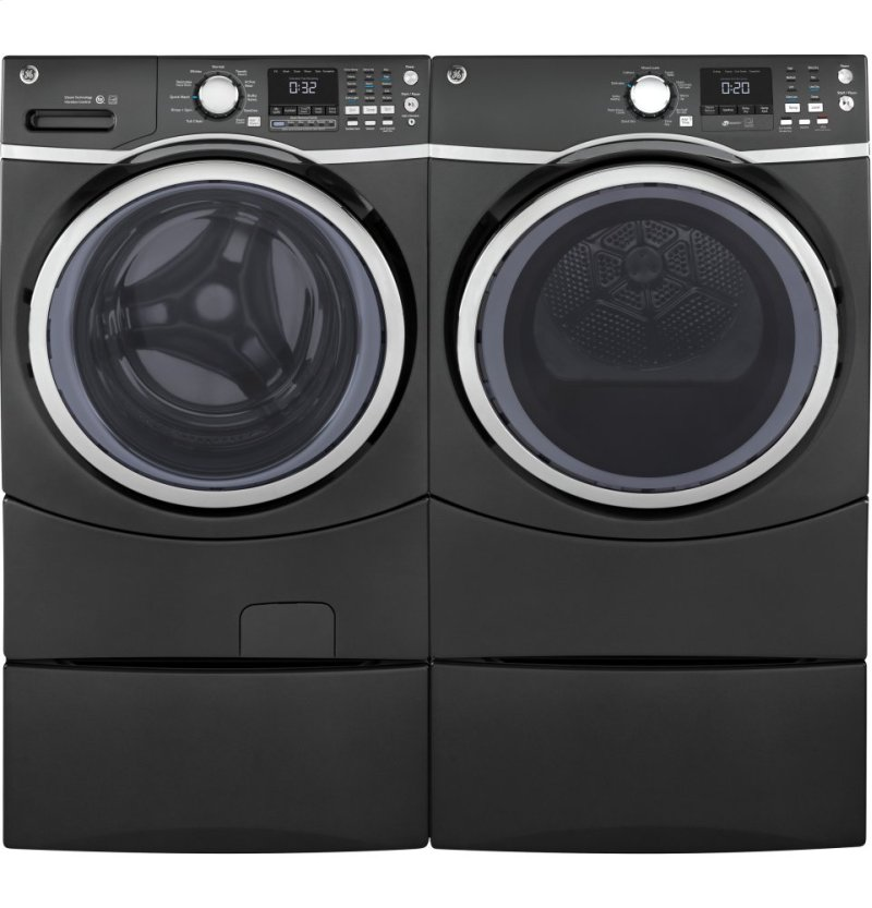 GE® 4 5 cu  ft  Capacity Front Load ENERGY STAR® Washer with Steam