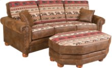 Lodge Conversation Sofa