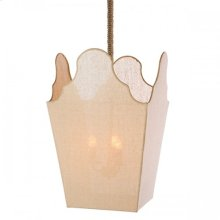 Miramar Large Sideboard Lantern; Seaside Collection