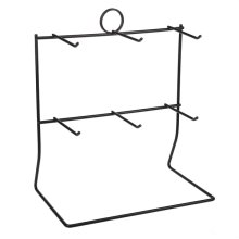 2 Tier 6 Arm Pegged Counter Display