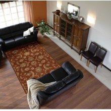 India House Ih83 Brk Rectangle Rug 2'6'' X 4'