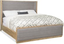 Urban Elevation Queen Upholstered Shelter Bed