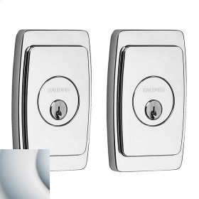 Satin Chrome Palm Springs Deadbolt