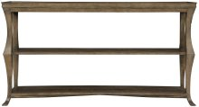 Rustic Patina Console Table in Peppercorn (387)