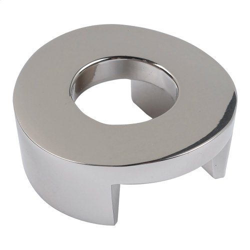 Centinel Round Knob 1 1/4 Inch (c-c) - Polished Nickel