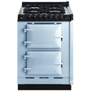"AGAAga Module 24"" Electric/natural Gas Duck Egg Blue With Stainless Steel Trim"