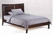 Saffron Bed in Dark Chocolate Finish