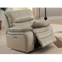 Power Recliner in Cheyenne-Pearl
