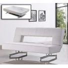 Divani Casa Wilshire - Modern Fold-Out Leatherette Sofa Bed Product Image