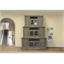"""60"""" TV Stand 2 Drawer, 4 Door"""