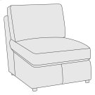 Winslow Armless Chair Product Image