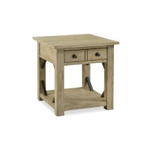 Hideaway End Table