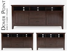 "Dover Point 50"" Media Console - Birch Cherry"