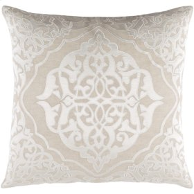 "Adelia ADI-001 18"" x 18"" Pillow Shell with Polyester Insert"