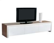Lauderdale Media Stand - White