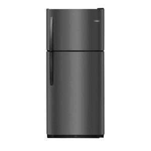 20.4 Cu. Ft. Top Freezer Refrigerator - BLACK STAINLESS STEEL