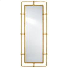 Metro Gold Rectangular Mirror