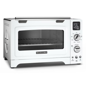 "Kitchenaid12"" Convection Digital Countertop Oven - White"