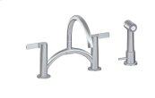Terra Bridge Bar/Prep Faucet w/ Independent Side Spray