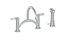 Terra Bridge Bar/Prep Faucet w/ Independent Side Spray