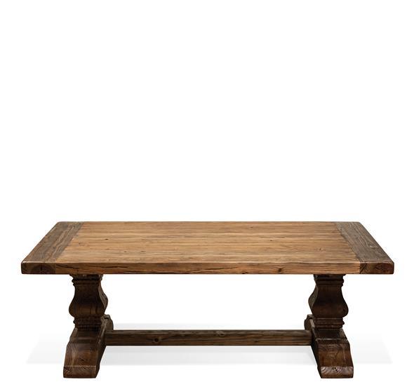 Hawthorne Coffee Table Barnwood Finish